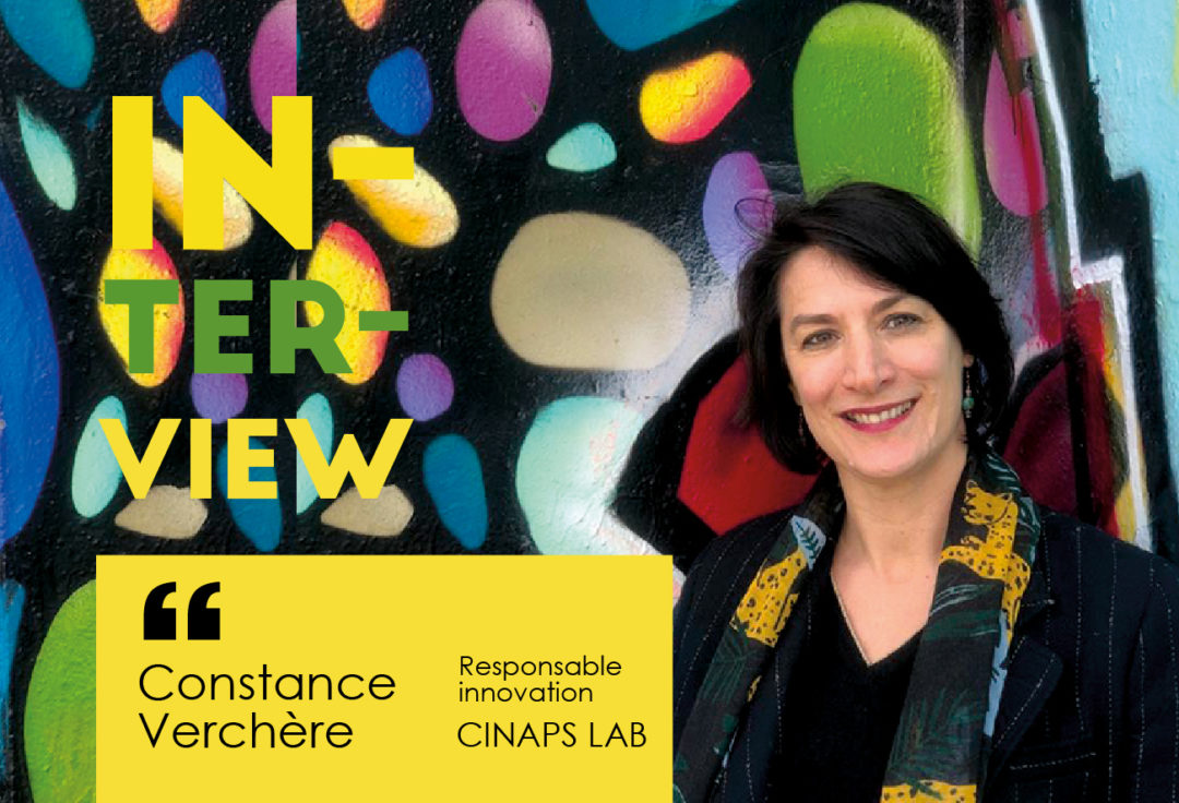 Interview Constance Verchère reponsable innovation chez Cinaps
